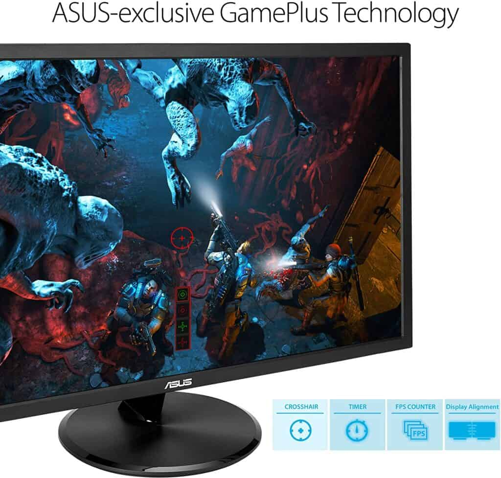 Asus VP28UQG Gaming Monitor With Asus Gameplus Technology