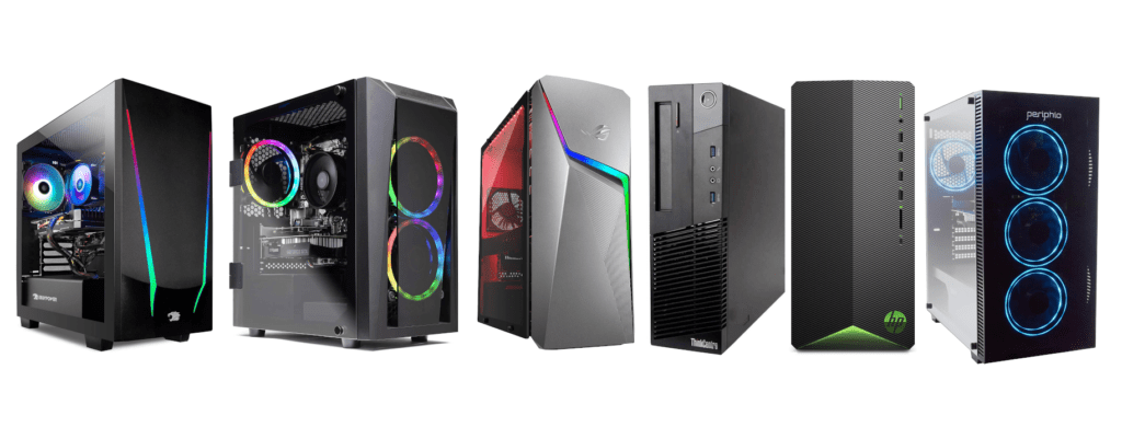Lineup Of Best Gaming PC Under 1000